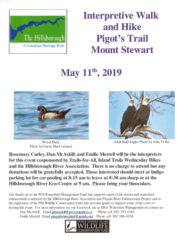 1 -Poster Interpretive Walk and Hike May 11 2019 sf