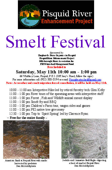 Smelt Festival 2019 rescheduled to May 11